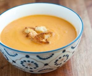 Supa crema de legume cu piept de pui – v2