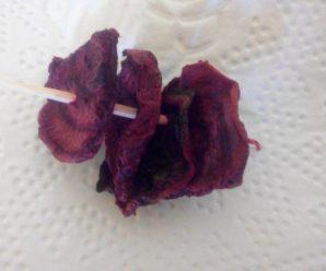 Cipsuri de sfecla rosie