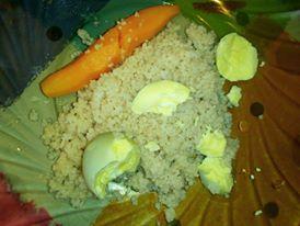 Cus cus cu morcov si galbenus