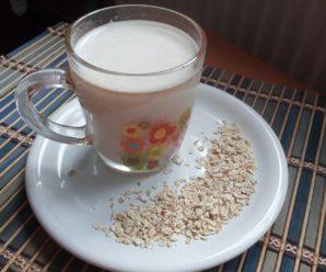 Lapte de ovaz (facut in casa)