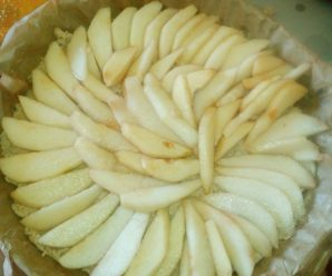 Tarta de pere (fara zahar)