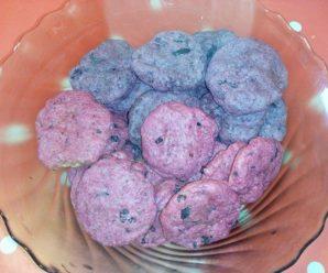 Biscuiti cu sfecla rosie
