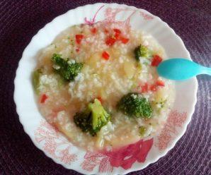 Orez cu dovlecel si broccoli