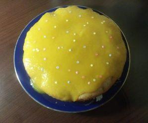 Tort de banane cu mango (fara zahar, fara lactate)