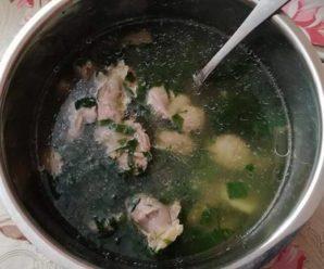 Supa din pipote de pui