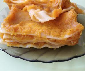 Lasagna cu dovleac (fara gluten, ou, lapte)