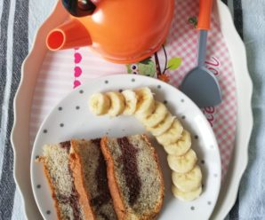 Pandispan cu banane
