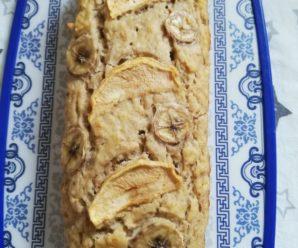 Banana apple bread – Chec de banane si mere