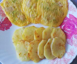 Mini-omleta cu varza si carne