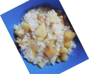 Budinca de orez si mere