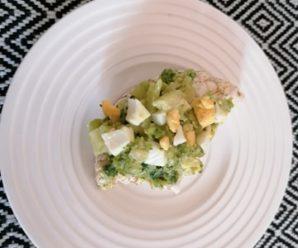 Salata de ou cu broccoli
