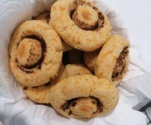 Biscuiti cu dovleac  – ciupercute
