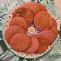 Pancakes cu sfecla rosie